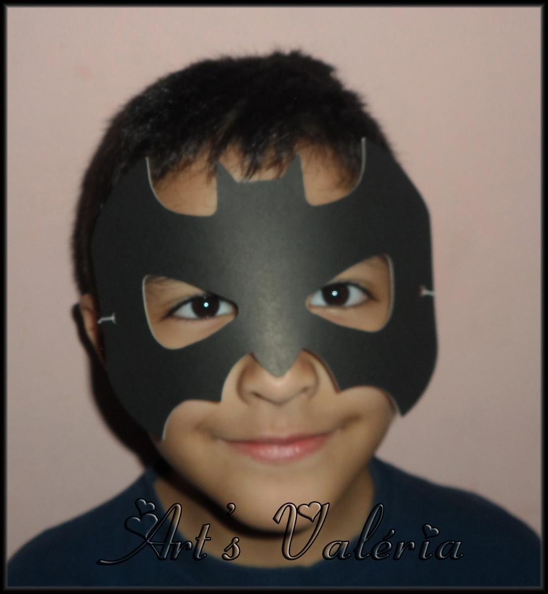 Mascara Do Batman E Mulher Gato